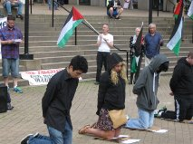 VANCOUVER EMERGENCY PROTEST FOR GAZA, PALESTINE