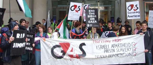 Picket: DROP G4$! Don't Support War Crimes in Palestine!