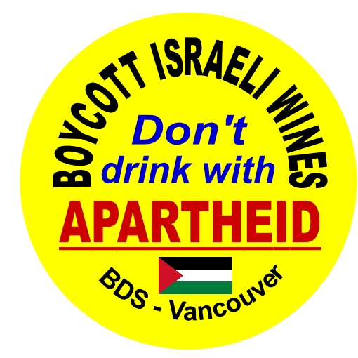Commemorate Nakba 68 – Boycott Israeli Wines