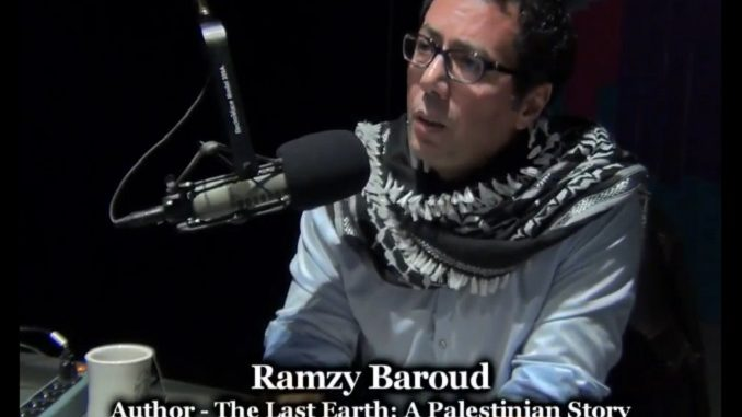 Dr. Ramzy Baroud and the Palestinian Narrative